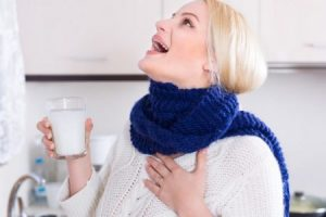 Streptococcus in throat when pregnant