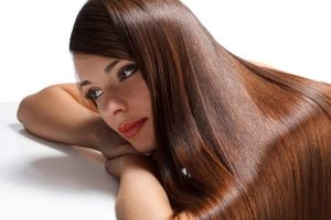 long and shiny hair