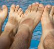 Как убрать загар с ног за один день дома – это легко и эффективно!