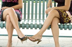 crossing leg