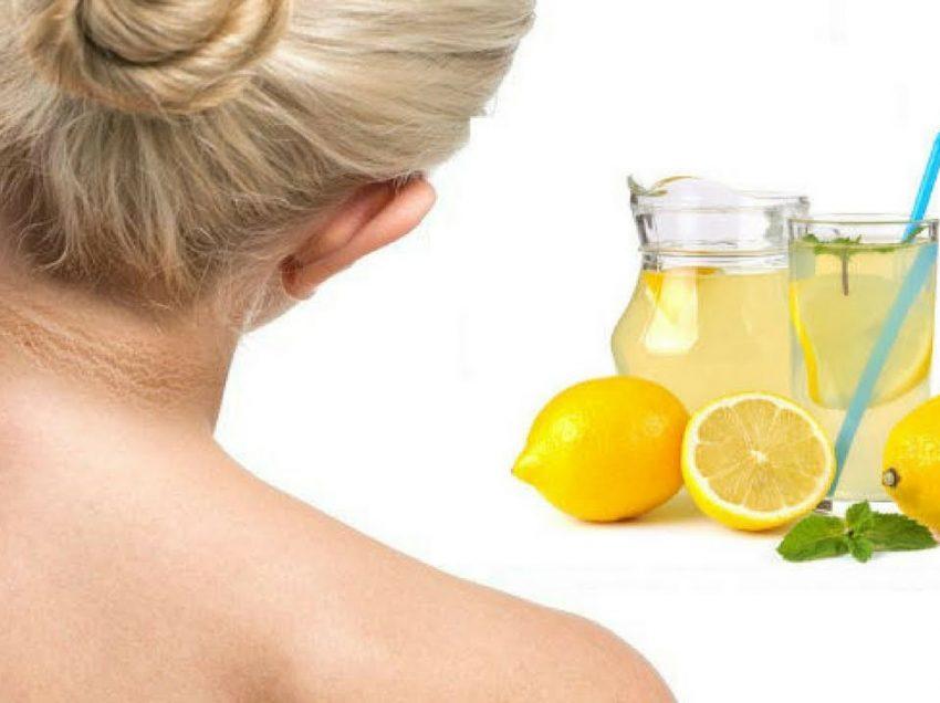 Как быстро избавиться от темной шеи лимонами #проверено