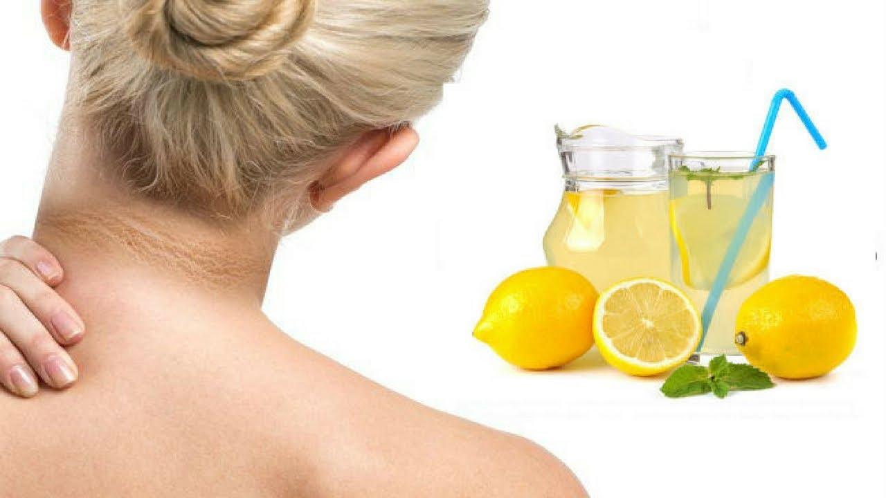 dark neck and lemon