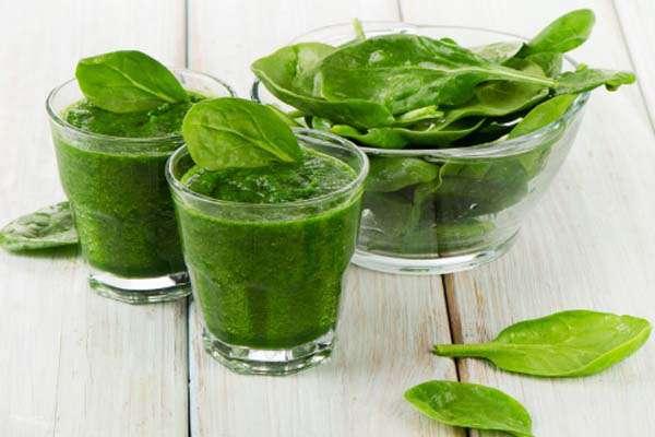 14 преимуществ от регулярного употребления шпинатного сока