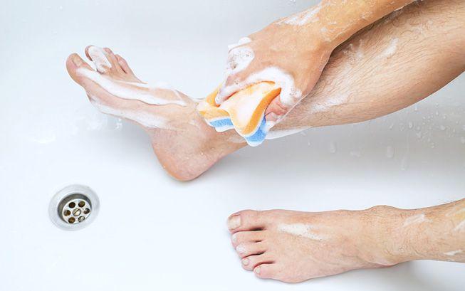 5 частей тела, которые редко очищаются