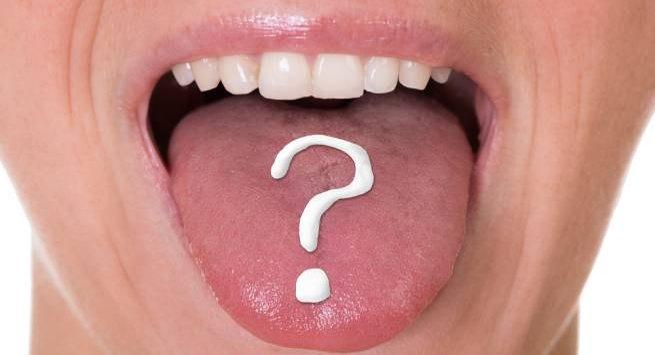 Это то, что произойдет, если вы не будете регулярно чистить язык