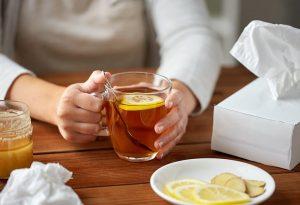 ginger tea for nursing mom