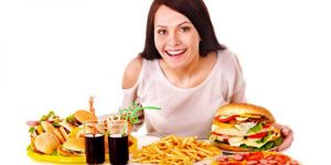 junk food to lose weight